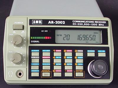 AOR AR-2002